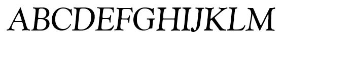 SG Goudy Catalogue SH Italic Font UPPERCASE