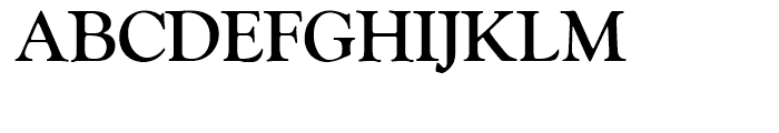 SG Goudy Old Style SH Bold Font UPPERCASE