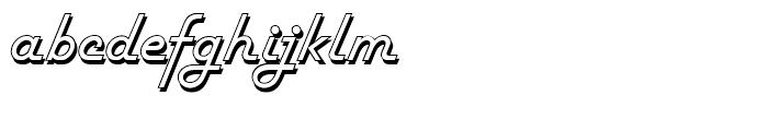 SG Harlow SH Regular Font LOWERCASE