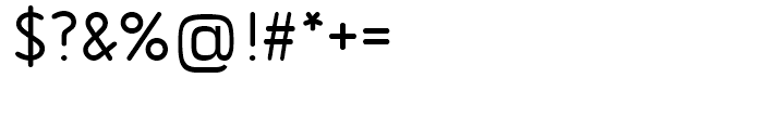 SG Isonorm SB Regular Alternative Font OTHER CHARS