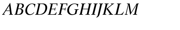 SG Life SB Roman Italic Font UPPERCASE