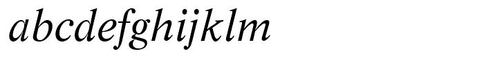 SG Life SB Roman Italic Font LOWERCASE