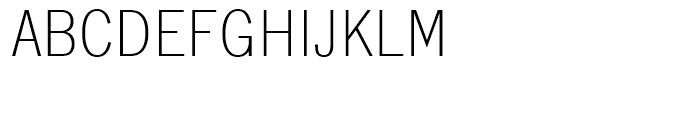 SG Lightline Gothic SB Regular Font UPPERCASE