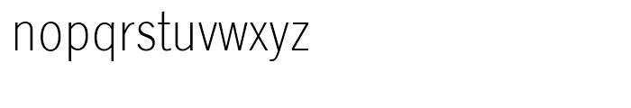SG Lightline Gothic SB Regular Font LOWERCASE
