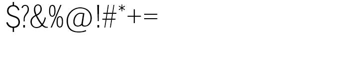 SG Lightline Gothic SH Regular Font OTHER CHARS