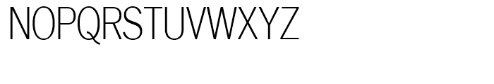 SG Lightline Gothic SH Regular Font UPPERCASE