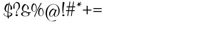 SG Murray Hill SH Regular Font OTHER CHARS