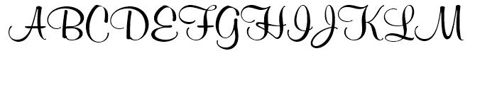 SG Murray Hill SH Regular Font UPPERCASE