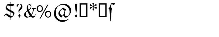 SG Neue Luthersche Fraktur SB Regular Font OTHER CHARS