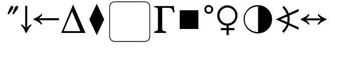 SG Pi Layout CH 1 SB Regular Font UPPERCASE