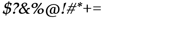 SG Romic SH Light Italic Font OTHER CHARS