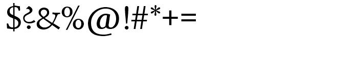 SG Schneidler SH Medium Font OTHER CHARS
