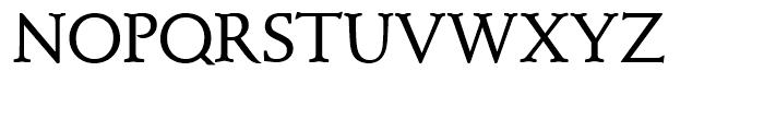 SG Schneidler SH Medium Font UPPERCASE