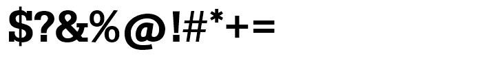 SG Serifa SH Medium Font OTHER CHARS