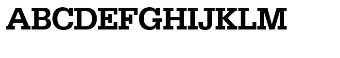 SG Serifa SH Medium Font UPPERCASE