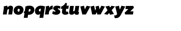 SG Today Sans Serif SH Ultra Italic Font LOWERCASE