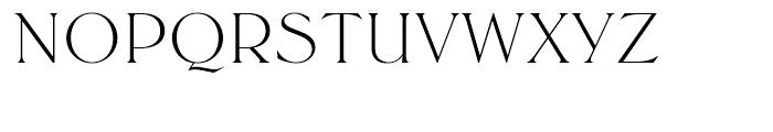 SG Trieste SB Light Font UPPERCASE