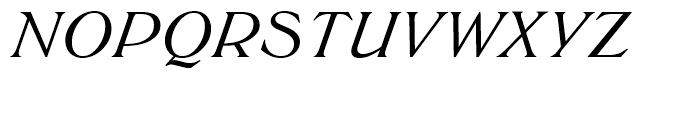 SG Trieste SB Medium Italic Font UPPERCASE