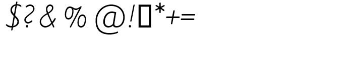 SG VA-Script Regular Font OTHER CHARS