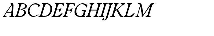 SG Worchester Round SH Italic Font UPPERCASE