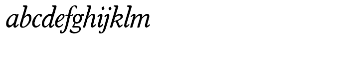 SG Worchester Round SH Italic Font LOWERCASE