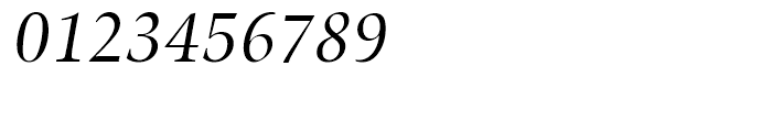 SG Zapf Renaissance Antiqua SB Book Italic Font OTHER CHARS