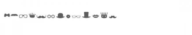 sg props and costumes dingbats font Font LOWERCASE