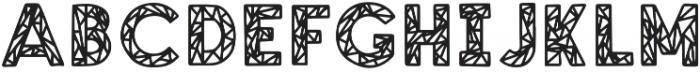 SHEER SANS Regular otf (400) Font UPPERCASE