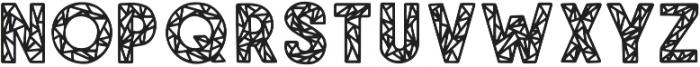 SHEER SANS Regular otf (400) Font LOWERCASE