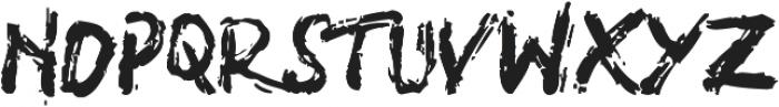 SHIRK otf (400) Font UPPERCASE