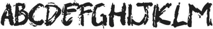 SHIRK otf (400) Font LOWERCASE