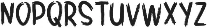 SHUIMU Brush ttf (400) Font UPPERCASE