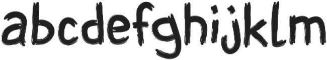 SHUIMU Brush ttf (400) Font LOWERCASE