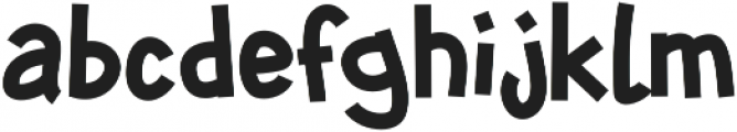 SHUIMU Strong ttf (400) Font LOWERCASE