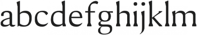 Shaaron Medium otf (500) Font LOWERCASE