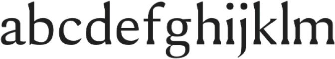 Shaaron otf (400) Font LOWERCASE