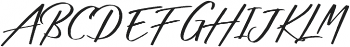 Shadow Boxing Script One otf (400) Font UPPERCASE