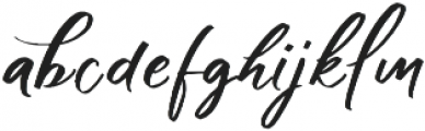 Shadow Boxing Script Two otf (400) Font LOWERCASE