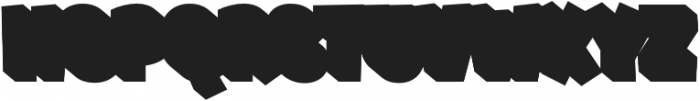 Shadow otf (800) Font UPPERCASE