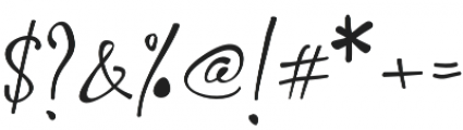 Shafira otf (400) Font OTHER CHARS