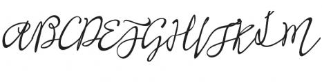 Shafira otf (400) Font UPPERCASE