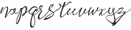 Shafira otf (400) Font LOWERCASE