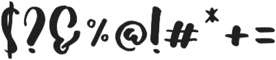 Shallom Regular otf (400) Font OTHER CHARS