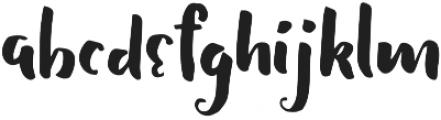 Shallom Regular otf (400) Font LOWERCASE
