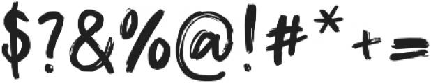 Shamber Regular otf (400) Font OTHER CHARS