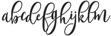 Shanghai Script Alt Regular otf (400) Font LOWERCASE
