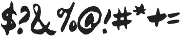Shanghai otf (400) Font OTHER CHARS
