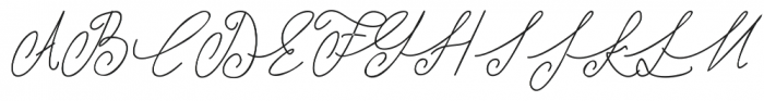 Shangrela otf (400) Font UPPERCASE