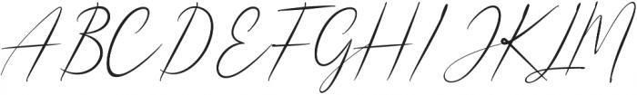 Shangrella otf (400) Font UPPERCASE