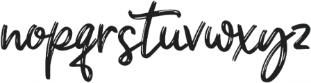 Shanky otf (400) Font LOWERCASE